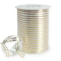 Split band 2 gold stripes on silver 10 mm 250m