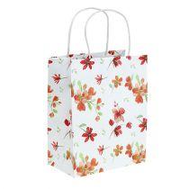 Gift bags with flowers 25cm x 20cm x 11cm 6pcs