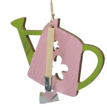 Decoration to hang watering can 9cm x 12cm 8pcs
