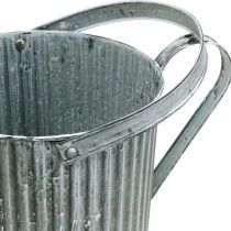 Watering can for planting, decorative metal jug, planter Ø19.5cm