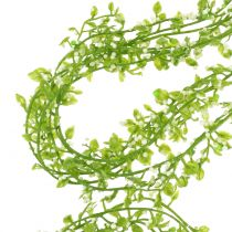 Plant garland with berries green L122cm