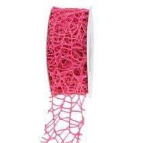 Mesh Tape Pink 40mm 10m
