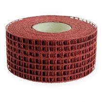 Mesh tape 4.5cm x 10m Bordeaux
