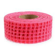 Mesh tape 4,5cm x 10m pink