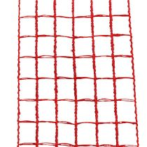 Mesh tape 4,5cm x 10m red