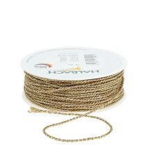Gold cord 2mm 50m