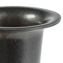 Grave vase anthracite 28.5cm