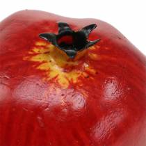 Decorative pomegranate red 9.5cm 4pcs