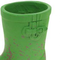 Mini plant pot rubber boots 10.5cm 6pcs