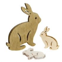 Hares sorted for spreading 2cm - 4cm nature 96pcs