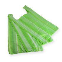 Shirt bag green 30cmx18cmx55cm 13my 100pcs.