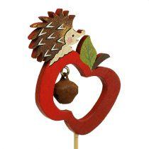 Autumn plug hedgehog with apple 7cm 12pcs