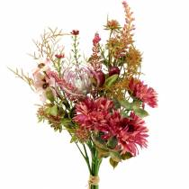 Bouquet of autumn fuchsia 40cm