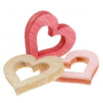 Heart to Sprinkle Pink, Pink, Nature 2cm 144p