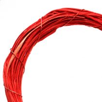 Heart open red 15cm 8pcs