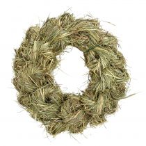 Hay wreath, door wreath Ø25cm