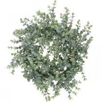 Wedding decoration eucalyptus wreath artificial Ø25cm
