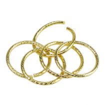 Wedding rings gold Ø3cm 25pcs