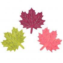 Maple leaf wood for scattering assorted 4cm 72pcs