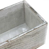 Plant box, decorative box, planter, wooden vessel L25cm