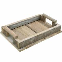 Wooden tray, table decoration, tray for decoration, wood decoration 31cm