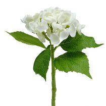 Hydrangea 33cm White 1pc