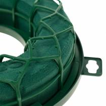 OASIS® IDEAL universal ring floral foam wreath green H4cm Ø18.5cm 5pcs
