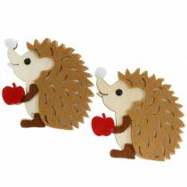 Autumn decoration for spreading and tinkering hedgehogs 8cm 6pcs