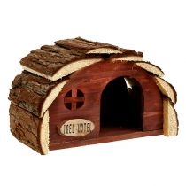 Hedgehog Hotel Nature 24.5cm x 15cm x 17cm