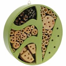 Insect hotel round green Ø25cm