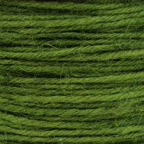 Jute cord green Ø2mm 100g