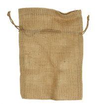 Jute bags natural 16cm x 24cm 10pcs
