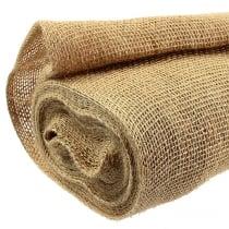 Jute fabric natural 140cm 10m