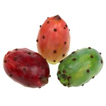 Prickly pear artificial sorted 8,5cm 3pcs