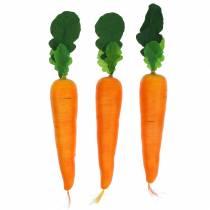 Artificial carrot 18cm 3pcs