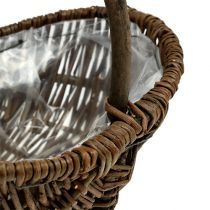 Potato basket 32cm with foil nature