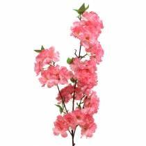 Artificial Cherry Blossom Branch Pink 103cm