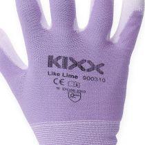 Kixx Gardening Gloves White, Lilac S.8