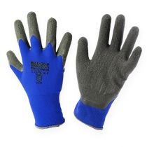Kixx Gardening Gloves Blue, Black Sizes 10