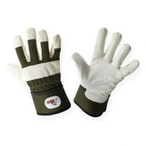 Kixx children gloves size 6 green, white