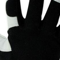 Kixx Lycra gloves size 10 black, light gray