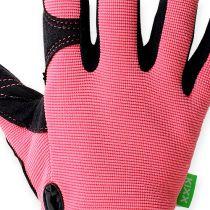 Kixx synthetic gloves size 8 pink, black