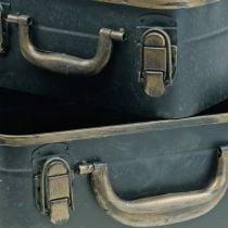 Metal case, planter, case for planting L30 / 22.5cm, set of 2