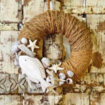 Coconut yarn natural Ø4mm 15m