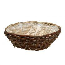 Basket bowl plant basket Ø35cm H12cm