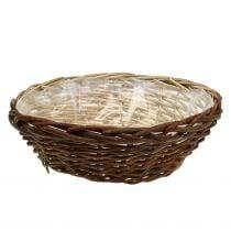 Basket bowl plant basket Ø40cm H13cm