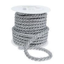 Cord silver 10mm 10m