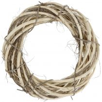 Wreath of willow and branches nature Ø39cm