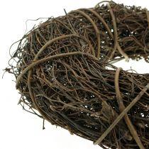 Vine wreath with willow Ø25cm