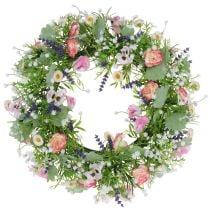 Wreath Ranunkel / Wicke Ø40cm